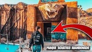 Volvemos al PARQUE ACUATICO ABANDONADO con OCUPAS - Exploracion Urbana Lugares Abandonados en España