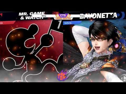 CTS 47 - Losers Eighths - Travy (Mr. Game & Watch) vs. Welp (Bayonetta) |