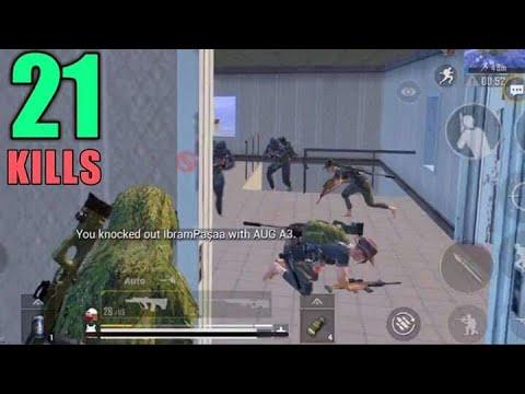 Three Squads Vs Me | 21 Kills Vs Squad | PUBG Mobile