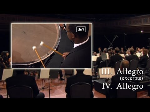 Beethoven 5th Symphony, Mvts III-IV (Timpani Excerpts)