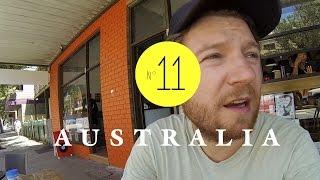 Nur schönes Blech am ersten Uni-Tag in Australien. AUSTRALIEN - LESS WORK / MORE TRAVEL