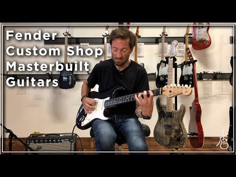 Fender Custom Shop Masterbuilt Strats