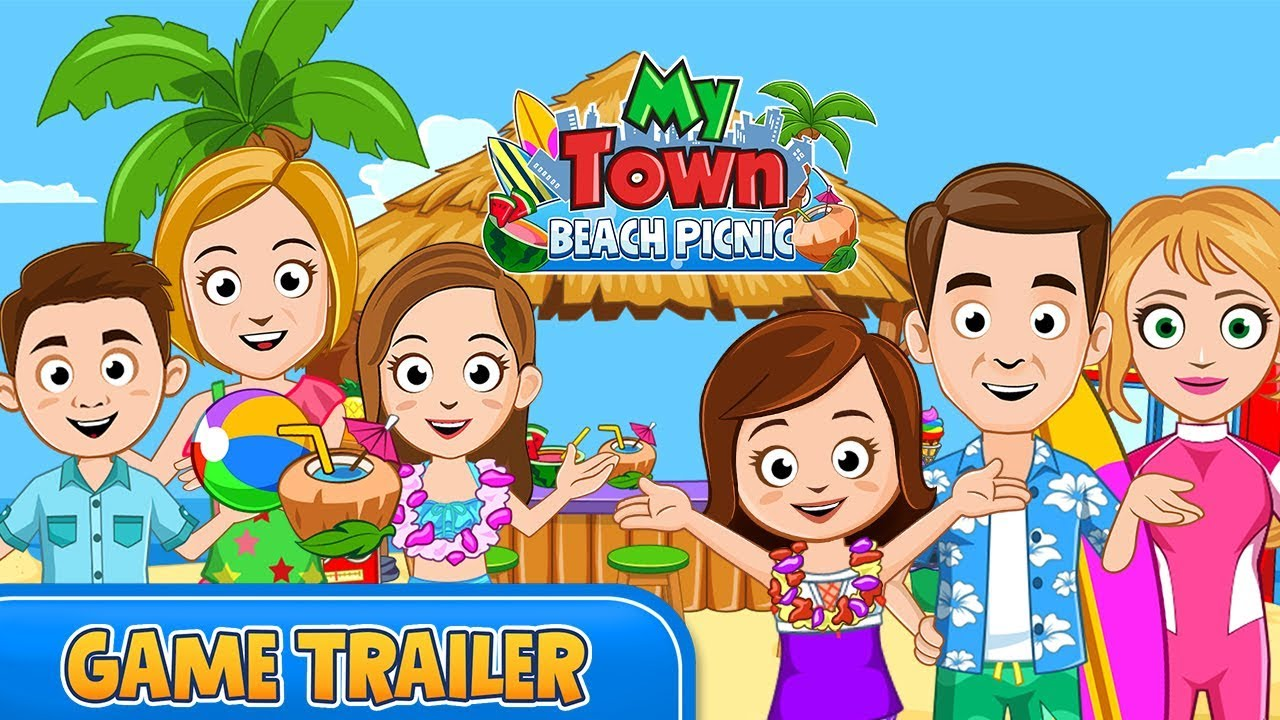 My Town : Beach Picnic 2 14 Apk Download - mytown beach APK free