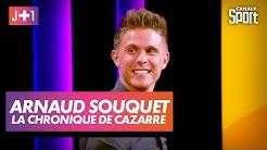 Julien Cazarre avec Arnaud Souquet