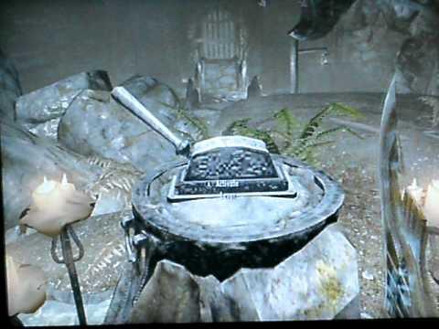 Skyrim - Ansilvund Excavation Puzzle