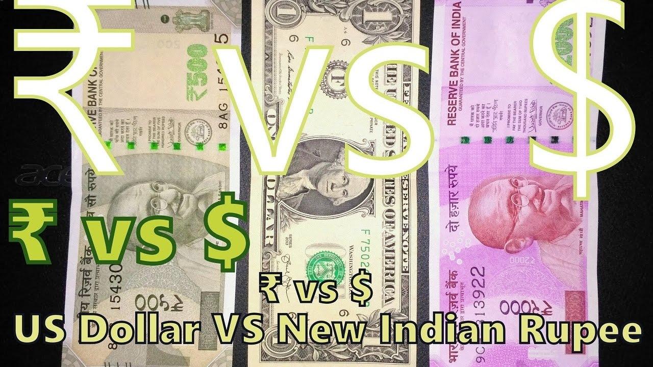 Vs Us Dollar New Indian Ru