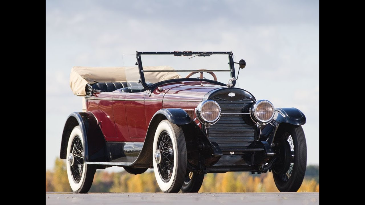Antique Auto Body : Lincoln model l sport phaeton by american body