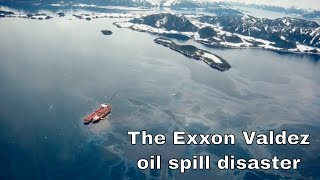 24th March 1989 The start of the Exxon Valdez oil spill disaster in Alaska's Prince William Sound