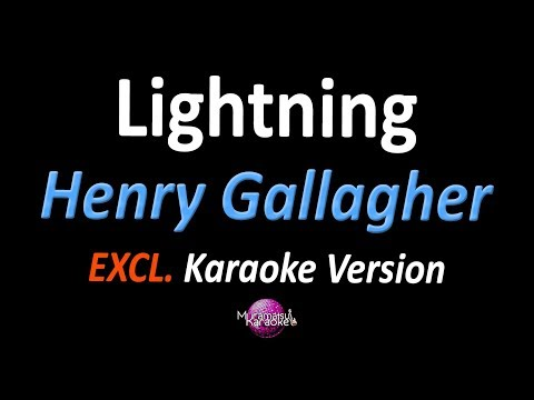 LIGHTNING (Karaoke Version) - Henry Gallagher