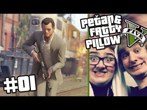 """GTA V ONLINE - """"Čtvrtá promíle"""" (by PeTan & FattyPillow) #01"""