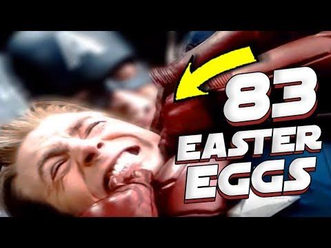 83 REFERENCIAS E EASTER EGGS EM VINGADORES ULTIMATO QUE VOCE NAO VIU