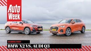 Audi Q3 vs. BMW X2 - AutoWeek Dubbeltest - English subtitles