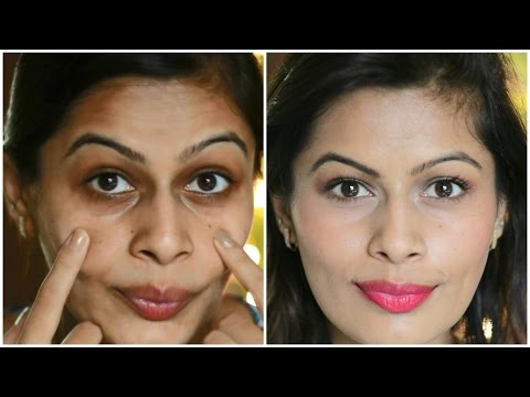 Eye Makeup: Best Way To Cover Dark Circles