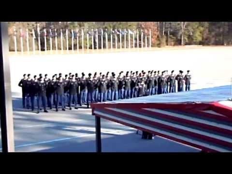 Turning Blue Ceremony - Foxtrot Company, 1/50 Infantry Regiment - February 19, 2015