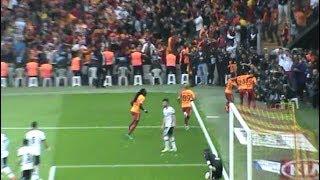 Galatasaray Beşiktaş İlk Gol Tribünler Yıkılıyor [Fernando Reges] 2018