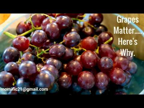 Grapes Matter, Here's Why..