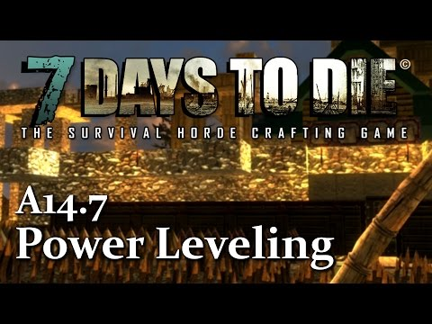 Power Leveling Tailoring, Leather Working & Armor Smithing In 7 Days To Die