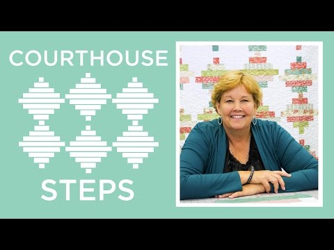 Make an Easy Courthouse Steps Quilt