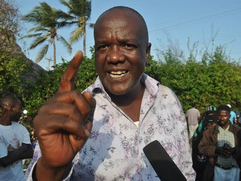 Kilifi gubernatorial hopeful Gideon Mung'aro on the death of Joseph Nkaissery