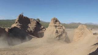 Riding Dirtbikes in the FLOWING RIVER BEDs of ARIZONA!