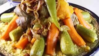الكسكس المغربي لفطور شهي ومميز