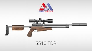 The Air Arms S510 TDR: The Ultimate Take Down Air Rifle