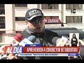Chofer de radiotaxi fue aprehendido por la policía