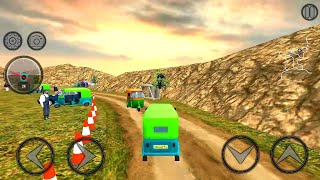 Mountain Auto Tuk Tuk Rickshaw : New Games 2020 | Android Gameplay screenshot 2