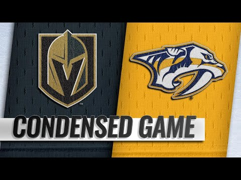 10/30/18 Condensed Game: Golden Knights @ Predators