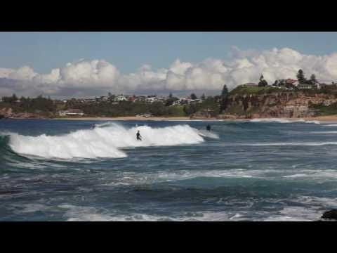 Mona Vale Surfing Wave 1