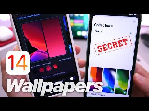 First Look At IOS 14 Wallpaper Options & Settings