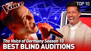 The best Blind Auditions of The Voice of Germany Season 10