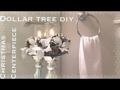 Dollar tree christmas candle holder diy vd 3 youtube for Home decorations youtube