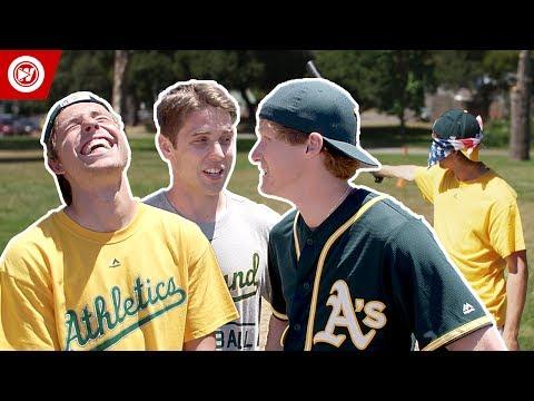 Blindfolded Home Run Derby | MLB All-Star 2017
