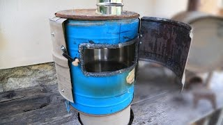 Rocket stove oven - New design
