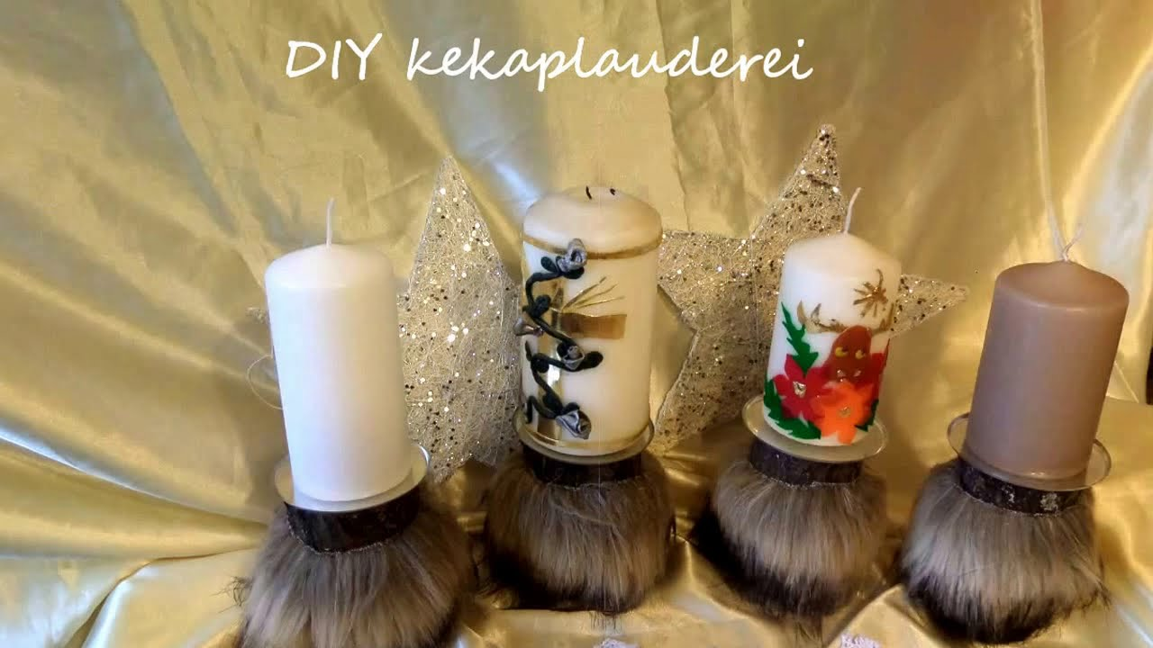 diy besonderer adventskranz in holz kerzen deko selber machen upcycling youtube. Black Bedroom Furniture Sets. Home Design Ideas