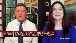 NYSE president on the future of trading on the floor amid coronavirus pandemic