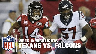 Texans vs. Falcons | Week 4 Highlights | NFL