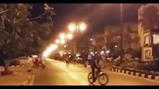 السيسي يتجول بدراجته بالإسكندرية والأهالي يهتفون «بنحبك يا ريس»