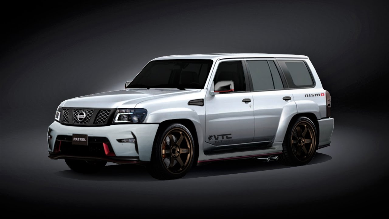 vtc nismo 2018 nissan patrol vtc super safari nismo concept virtual tuning. Black Bedroom Furniture Sets. Home Design Ideas