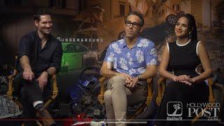 6 Underground interview with Ryan Reynolds Adria Arjona and Manuel Garcia Rulfo