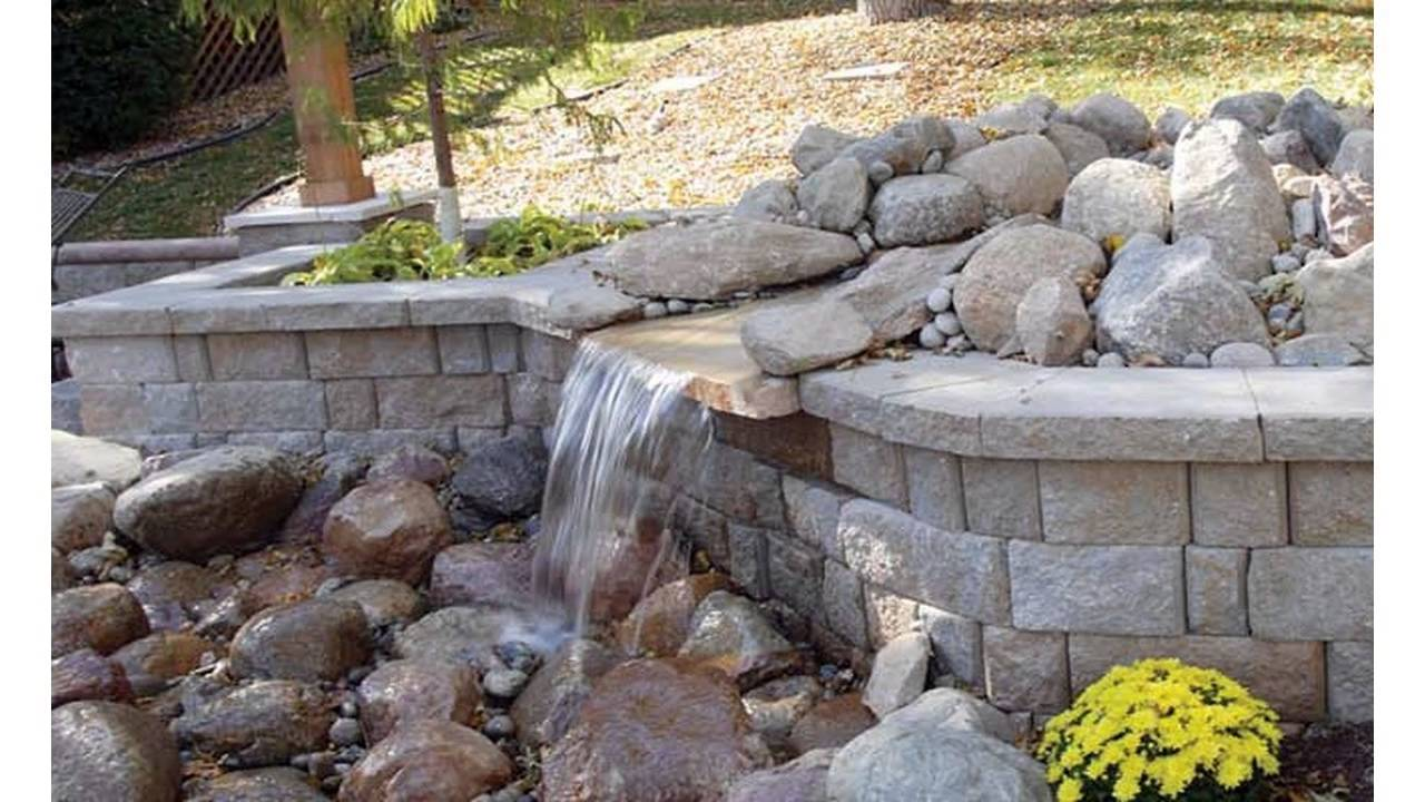 Small Garden Retaining Wall Youtube - small retaining wall design