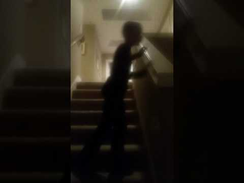 Dumb peoples guide to sliding down stairs pt.2