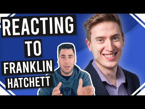 Reacting to Franklin Hatchett Passive Income Video | It's not that easy!!