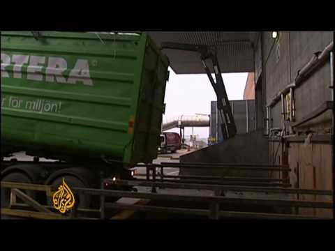 Sweden turns imported waste into energy