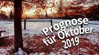 Wetterprognose Oktober 2019: Erst golden und dann schon Schnee?