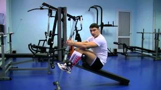 Прямые мышцы живота на наклонной скамье(, 2013-02-26T20:51:29.000Z)