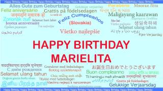 Marielita   Languages Idiomas - Happy Birthday