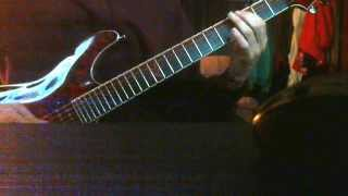 duality guitar cover with backing track