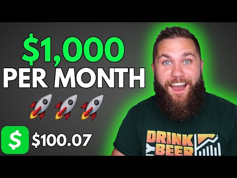 Making $1,000 a Month From Cash App Investing 🚀